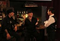 Ruckus and Dirk meet with magician Mike Hammer.