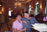 Alma visits Mark in Paris
