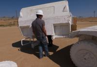 Jarrett Moves Styrofoam Hummer