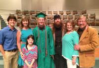 Family Photo at Reed's Graduation