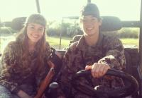 Sadie and boyfriend Beau hunt