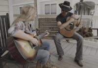Lee and Leroy Have A Porch Jam Session