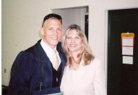Jimmy With His Mom at His College Graduation