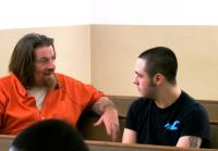 Inmate Rambo speaks with Dylan.