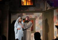 Korie and Willie as Mary and Joseph