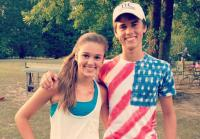 John Luke and Sadie Robertson on Fourth of July