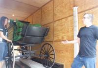 Todd and Tamera Load Hearse