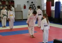 Bella During Karate Class