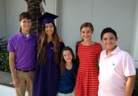 Rebecca at College Graduation from LSU