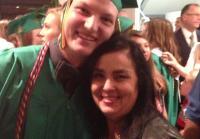 Reed and Kay at Graduation
