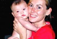 Jessica With Baby Priscilla