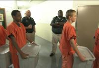 Teens walk to Jail Housing Unit