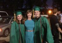 Brighton, Missy, and Reed at Graduation