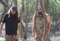 Jase and Willie in the Woods