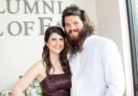 Bearded JD With Wife Alyson