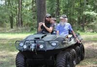 Jase Shows Off the New Argo Amphibious ATV