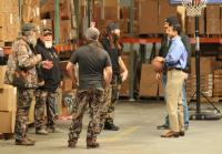Governor Bobby Jindal Plays Basketball With the Duck Commander Crew