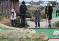 Jep Is Serious About Miniature Golf