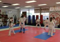 Willie Gets Partnered Up With Young Girl in Karate Class