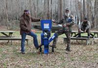 Willie and Si Battle for Woodchipper