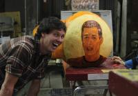 Jarrett's Face on a Pumpkin
