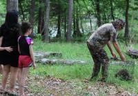 Phil Releases Raccoon