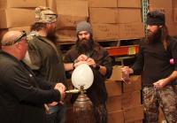 Duck Commander Crew Sucks Helium from Balloons