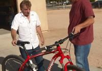 Antonio meet mountain bike owner