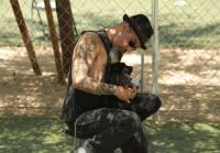 Ruckus looks for new dog