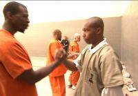 The inmates leave the teens with a handshake