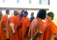 The teens come face-to-face with inmates