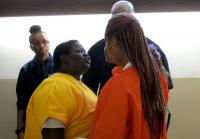 Inmate Big Juicy is not about to be disrespected