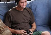 Cole plays video games