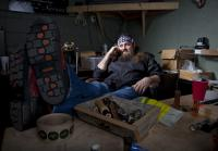 CEO Willie Robertson takes call