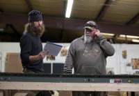 Jase Robertson and Goodwin check order
