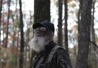 Si Robertson in the Woods