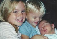 Cecily, Bonnie and Gary Boy