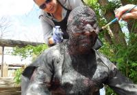 Special Makeup Effects Designer Steve LaPorte and Specialty Costumer Wynema Chavez
