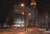 A Snowy Night in Cleveland