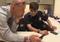 Det. Sayers shares surveillance footage.