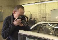 Detective Processes Car
