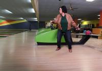 Kay Robertson has fun bowling with grandkids