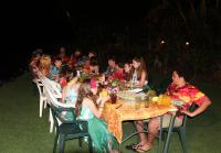 Robertsons gather for luau