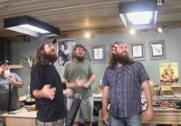 Willie Robertson introduces crew to The Swede