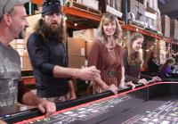 Jase and Missy Robertson play craps