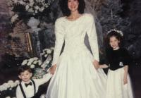 Young JD with Korie at Her Wedding