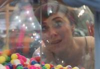 Kendall watches  gumball machine fill up