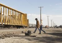 Vic returns to rail yard with Walt