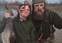 Mia and Jase Duck Hunting