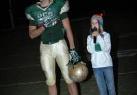 Mia and Reed at Football Game